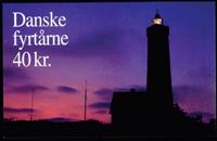 Denmark lighthouses mint booklet