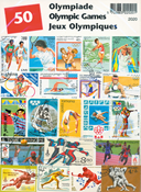 Olympic games - 50 different stamps