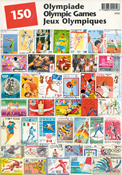 Olympic games - 150 different stamps