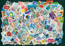 Frankrig - 300 stemplede frimærker