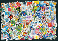 France - 500 cancelled stamps