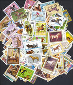Horses - 250 stamps