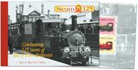 Isle of Man - Damplokomotiver - Flot prestigehæfte