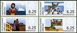 Grønland - Frankeringsmærker 2009 - Postfrisk sæt 4v