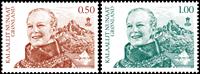 Grønland - Dagligmærker - Postfrisk sæt 2v