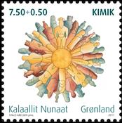 Grønland - Kimik - Postfrisk frimærke
