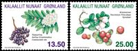 Grønland - Krydderurter - Postfrisk sæt 2v.