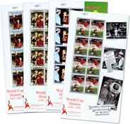 Gibraltar - UEFA European Championship - Set of mint sheetlets of 8