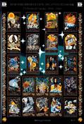 Faroe Islands - Legends 2001 - Sheetlet mint