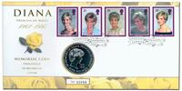 ENGLANTI - Prinsessa Diana - Kolikkokirje