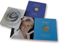ENGLANTI - Prinsessa Diana - Upea kolikkopakkaus