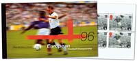 England - Fodbold EM - Flot prestigehæfte