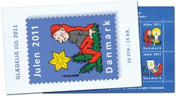 Danmark - Julemærket 2011 - Postfrisk hft/10
