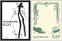 Denmark - Fashion - Mint set 2 v.
