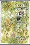 Belgien - Europa 2011 - Stemplet miniark