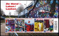 Belgium - Art of Graffiti - Mint souvenir sheet