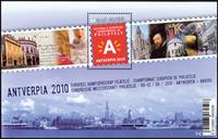 Belgien - Antverpia 2010 - Postfrisk miniark