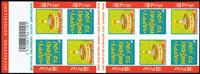 Belgien - Lykønskninger - Postfrisk hæfte