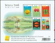 Belgien - Ungdomsfilateli - Postfrisk miniark