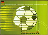 Belgium - World Cup 2006 - Souvenir sheet mint