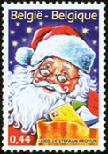Belgium - Christmas and New Year - Mint 1v