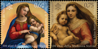 Vatican - Sistine Madonna - Mint set 2v