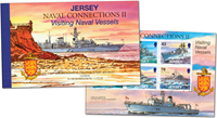 Jersey - Naval Connections - Mint prestige booklet
