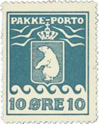 Greenland - Parcel stamp - AFA no. 15