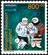 Grønland - Unicef/Nakuusa - Postfrisk frimærke