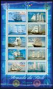 France - Sailing boats - Mint souvenir sheet