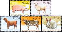 Cyprus - Farm animals - Mint set 3v