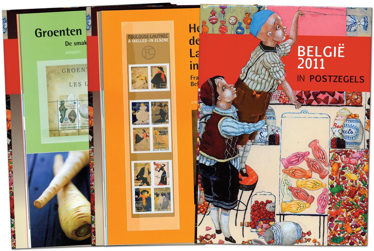 Belgien - Årbog 2011 - Flot årbog
