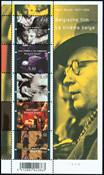 Belgien - Belgiske film - Postfrisk miniark