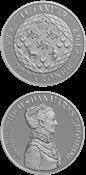 500 kr. sølv - Dronning Margrethe II's 40 års regeringsjubilæum