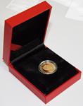 Fødselsdag mønt 1000 kr. i ægte guld - Dronning Margrethe 70 år