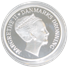 500 kr. Sølvmønt - Dronning Margrethe 70 år