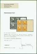 Danmark 1905 Chr. IX AFA 51 4-blok postfrisk