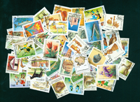 Russian states 50 different stamps