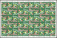 Denmark - Christmas seasl sheet 50/51