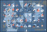 Denmark - Christmas sheet 1959