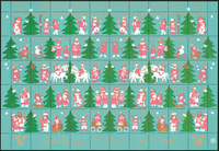 Denmark - Christmas sheet 1980