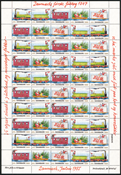 Denmark - Christmas sheet 1985