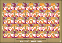 Denmark - Christmas sheet 1988