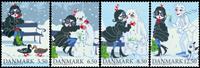 Denmark - Christmas - Mint set 4v