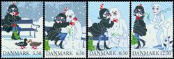 Danmark - Vintereventyr - Postfrisk sæt 4v