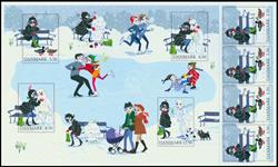 Danmark - Vintereventyr - Postfrisk temaark