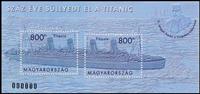 Ungarn - Titanic - Postfrisk miniark