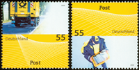 Germany - The Post - Mint set 2v