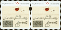 Germany - Stamp day '09 - Mint set 2v