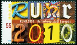 Tyskland - Ruhr 2010 - Ruhr 2010 postfrisk